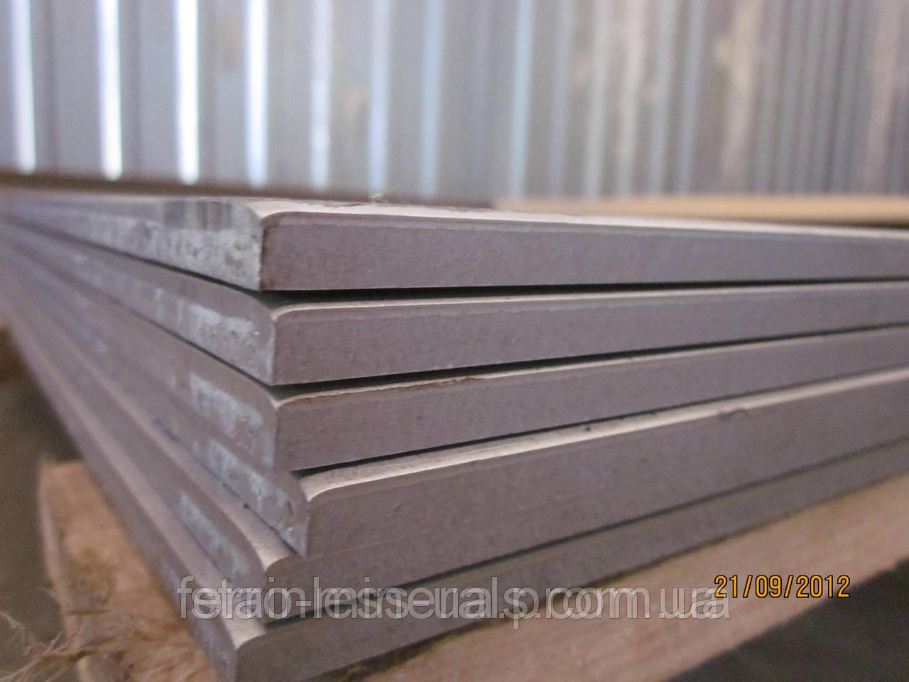 Нержавеющий лист 10 мм x 2000x6000, AISI 430 (12Х17) 1D