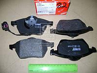 Колодка тормозной AUDI TT, SEAT LEON, SKODA, VW передний (Производство TRW) GDB1403