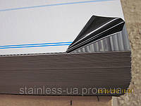 Нержавеющий лист  0.4 х1000х2000мм, AISI 430 (12X17),ВА+РЕ