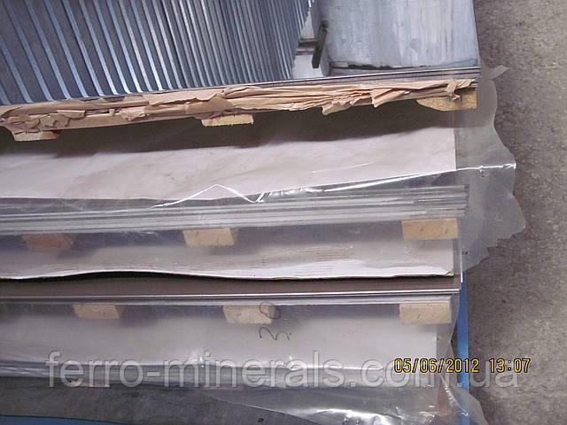 Нержавеющий лист 5х1500х3000мм, AISI 430(12Х17),1D