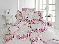 Качественный полуторный комплект постельного белья ТМ Nazenin Home, ранфорс juliet_lila_2