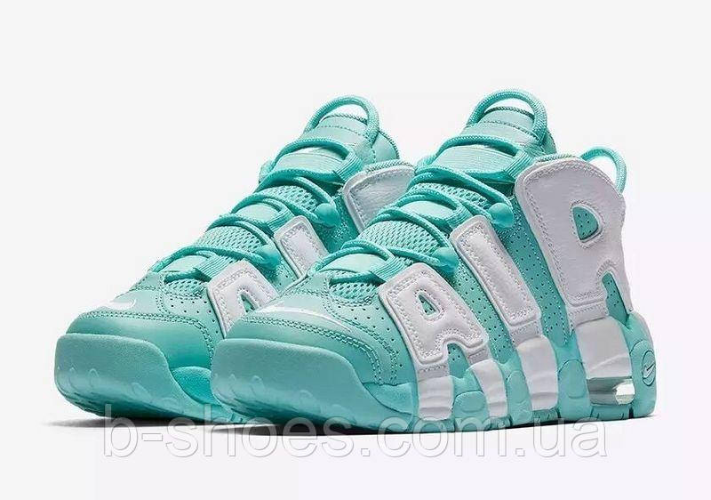Женские кроссовки Nike Uptempo GS Island Green