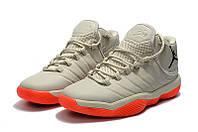 Мужские баскетбольные кроссовки Air Jordan Super Fly 2017 (Gray/Red), фото 1