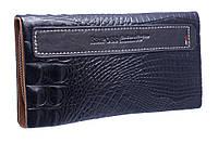 Оригинальный кожаный кошелек на молнии E106G