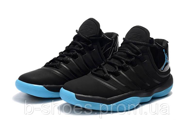 e4440c35 Мужские баскетбольные кроссовки Air Jordan Super Fly 2017 (Black jade)