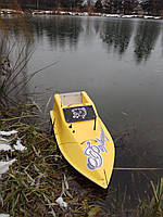 Кораблик для рыбалки 30000, 12v, gps, жолтый