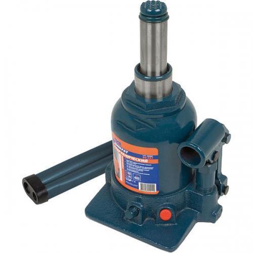Домкрат двухштоковый 2 т, h150-370 мм Miol 80-085