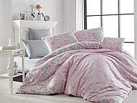 Качественный полуторный комплект постельного белья ТМ Nazenin Home, ранфорс LINES-NR-185_k