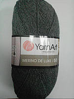 Пряжа полушерстяная Merino de lux напіввовна