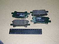 Колодка тормозной LEXUS RX, задней (Производство TRW) GDB3339