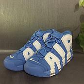 Мужские баскетбольные кроссовки Nike Uptempo (Blue/White)