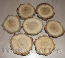 Срез дерева. Дуб 8 - 10 см