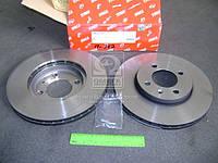 Диск тормозной SEAT IBIZA IV, Volkswagen CADDY передн., вент. (производство TRW), AEHZX