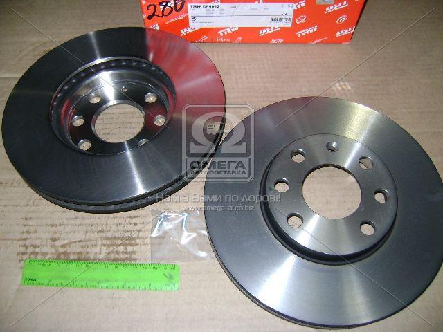 Диск тормозной OPEL ASTRA G, вент. (производство TRW) (арт. DF4042), AEHZX