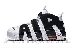 Мужские баскетбольные кроссовки Nike Uptempo (White/Black)