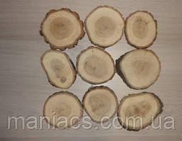 Срез дерева. Дуб 13 - 14 см