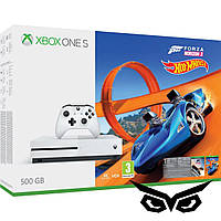Microsoft Xbox One S 500GB Forza H3+Hot Wheels+6M LIVE + дополнительный геймпад