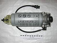 Фильтр топливный грубой очистки топлива (сепаратор) КАМАЗ ЕВРО-2 PL420 с подогревателем с сборе PreLine