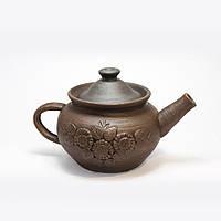 Чайник гончарный лепка