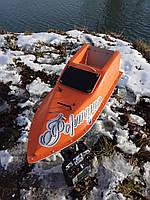 Кораблик для рыбалки 10000, 7.4v, база, оранжевый