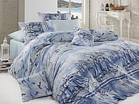 Качественный полуторный комплект постельного белья ТМ Nazenin Home, ранфорс Marine