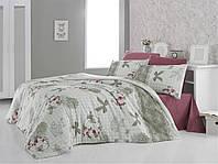 Качественный полуторный комплект постельного белья ТМ Nazenin Home, ранфорс Mina-Kiremit_k_k