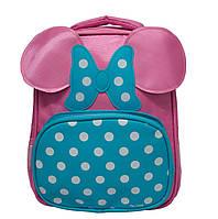 Детский рюкзак с ушками 3 Цвета Розовый