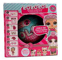 Большая Кукла-сюрприз LOL, Кукла-шарик LOL, Кукла Лол, шар сюрприз, Cюрприз кукла в яйце
