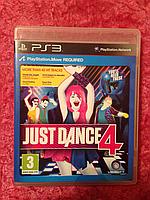 Видео игра Just Dance 4 (PS3) для Move
