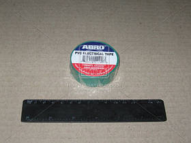 Изолента зеленая ABRO ET-912 G
