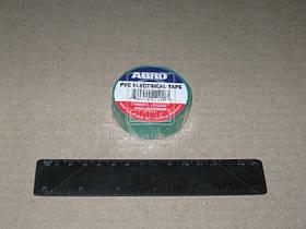Изолента зеленая ABRO (арт. ET-912 G)