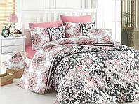 Качественный полуторный комплект постельного белья ТМ Nazenin Home, ранфорс STELLA-PUDRA-1