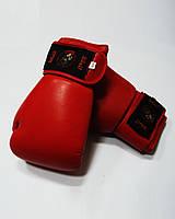 Перчатки боксерские ТМ Wolf (кожа; 14,16 oz; красный)