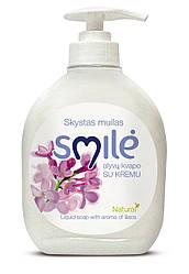 Кремовое жидкое SMILE мыло сирень 300 мл