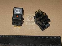 Выключатель обогрева заднего стекла ВАЗ 2105-06 (Производство Автоарматура) 26.3710-22.22