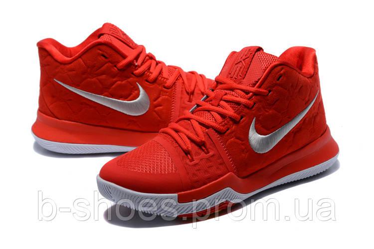 Мужские баскетбольные кроссовки Nike Kyrie 3 (Red)