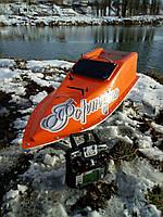 Кораблик для рыбалки 16000, 7.4v, gps, оранжевый