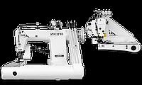 Zoje ZJ1261H Трехигольная машина с рукавной платформой