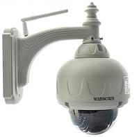 Уличная поворотная WiFi IP камера Wanscam HW0028 1 MP HD, фото 1
