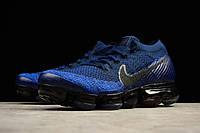 Мужские кроссовки NIKE AIR VAPORMAX FLYKNIT (Dark blue), фото 1