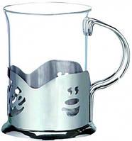 Подстаканник с стеклянным стаканом 200мл (Арт. 9569)