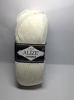 Пряжа lana gold - цвет белый