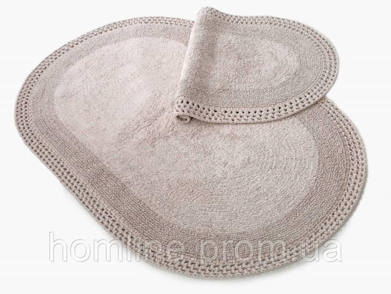Коврик для ванной Irya Laverne 70*110 серый