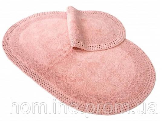 Коврик для ванной Irya Laverne 70*110 розовый