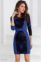 Особенное трикотажное платье Gepur 24415