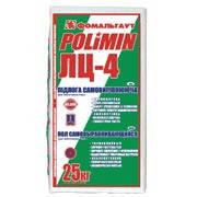 Сухие смеси для стяжки пола ПОЛИМИН М-200 ЛЦ-4 25 кг 3-15мм