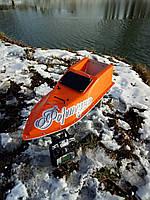 Кораблик для рыбалки 30000, 12v, ехолот, оранжевый