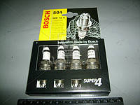 Свеча зажигания WR78X SUPER4 (NIVA 1.7i, DAEWOO MATIZ 0.8) (4 шт. блист.) (производство BOSCH) (арт. 242232804), ACHZX