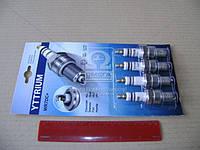 Свеча зажигания YTTRIUM WR7DC+(комплект 4 шт. блистер) (производство Энгельс) (арт. WR7DC+), AAHZX