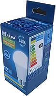 Лампа светодиодная Iskra LED ECONOM 15W (аналог 90 Вт) цоколь E27 колба A60 4000K (белый свет)